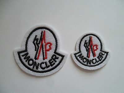 Brand New 1 Large and 1 Small Monc Iron-On Badges Patches