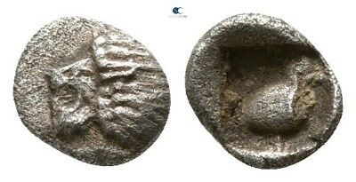 Savoca Coins Ionia Miletos Tetartemorion Lion Bird 0,24 g / 5 mm #SAC2939