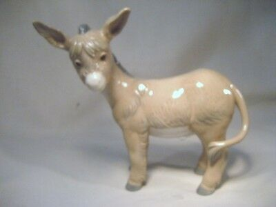 LLADRO/NAO Adorable little Donkey Brown/White