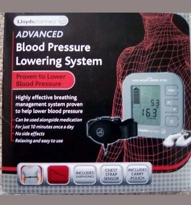 Lloyds pharmacy Advanced Blood Pressure Lowering System Machine Brand New