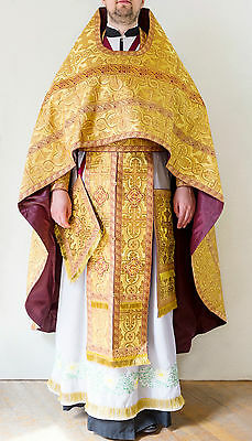 Orthodox priest vestments, GOLD, Russian style