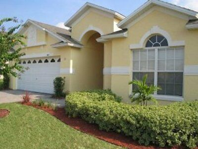 Florida Villa with private pool and games room, close to Disney. Sleeps 8