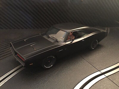 Pioneer Slot Car New Unboxed 1969 Dodge Charger Black Stealth Hemi Paint Defect