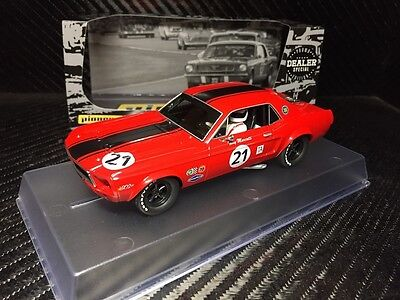 Pioneer Slot Car Mustang Notchback Coupe 'black Stripes', Dealer Special Edition