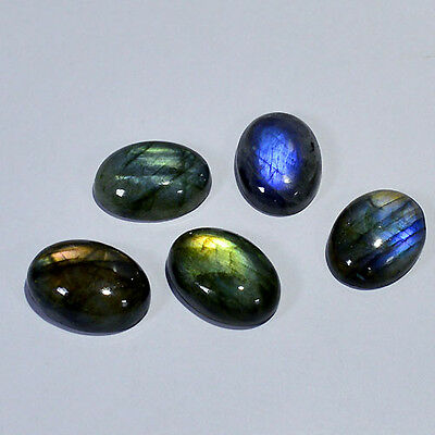 Wholesale Price Natural Labradorite cabochon Gems Calibrated Size 18X13 0016-21