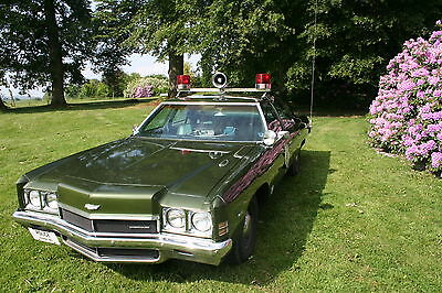 Chevrolet Bel Air 1972  Police Sheriff Car, Oldtimer H, 402 V8 Original Historie