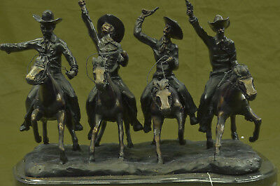 Coming Thru the Rye by Frederic Remington Museum Quality Bronze Sculpture Statue