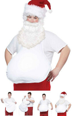 Santa Claus Big Belly Adult Mens Christmas Costume Accessory