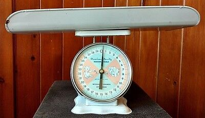 Vintage Scale American Family Company Nursery Baby Household 30 Pounds