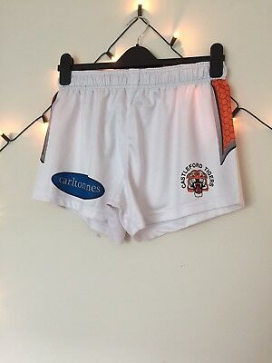 Castleford Tigers 2017 Away Shorts Size Small
