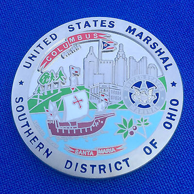 US Marshals Service Columbus Southern District of Ohio LEO USMS Challenge Coin