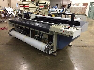Zund UVJet 215 Plus Flatbed Printer Needs Ink and 3 Printheads or Use for Parts