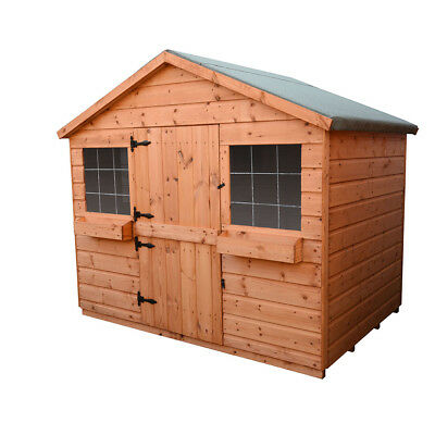 SHEDRITE 6x6 wooden playhouse 12MM T&G THROUGHOUT FREE POSTAGE