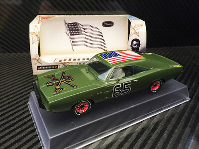 Pioneer Slot Car J-Code Dodge Charger, General Grant 'army Green' Prototype