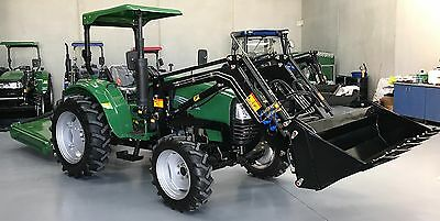 Full size 40hp Tractor, 3-year warranty Front Loader power steering rear remote