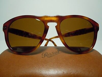 PERSOL 649 McQueen Vintage end 80's Caliber 54 By RATTi Torino With its case