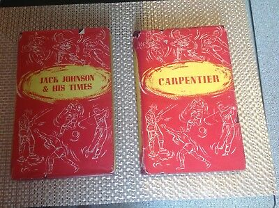 boxing books,Carpentier and Jack Johnson and his times.