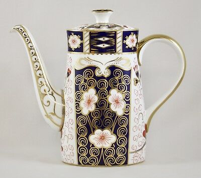 Superb Royal Crown Derby Traditional Imari 2451 Coffee Pot 1St Excellent!