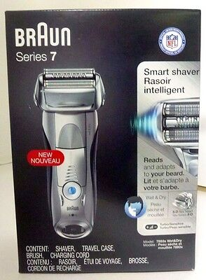 Braun Series 7 Smart Shaver 7893s Wet&Dry Sonic Technology, New Other, Free Ship