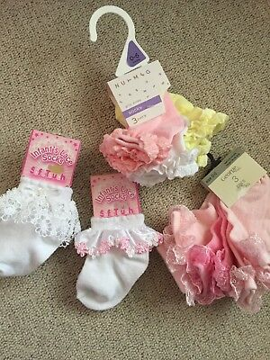 Baby Girl Socks 0-6m