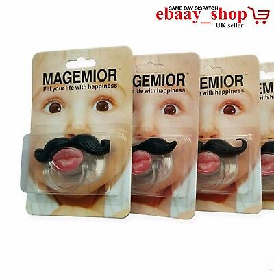 Teeth Pacifier Funny Dummy Dummes For Baby Babies Toddler Children Kids UK Seler