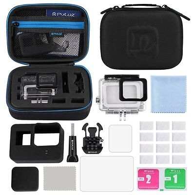 Surfing Accessories Combo Kit + Waterproof Case + LCD For GoPro HERO5