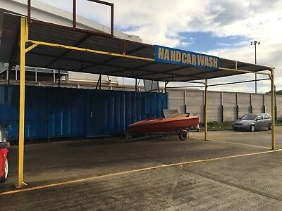 32x9ft Container Office/ car was comes with car was stand!