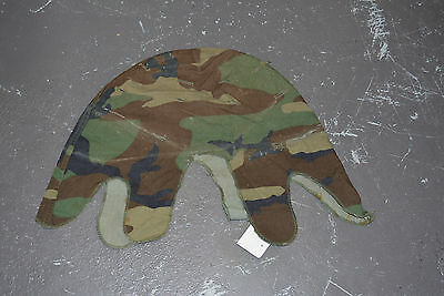 Used Canadian M1 helmet cover woodland 1980's (ref#co2bte146)
