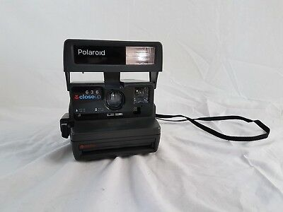 Polaroid 636 close up, camera, working condition