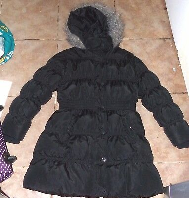 Stunning Girls Age 9-10 Thick Padded Next Coat