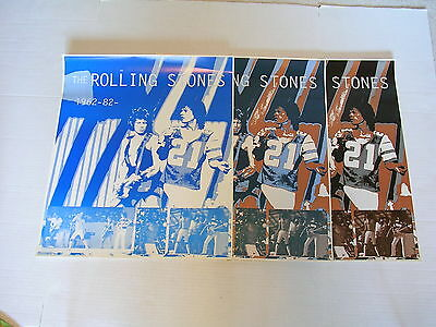 RARE ROLLING STONES 20 YEARS OF ROCKIN' 1962-82 Poster Color Proof Runs