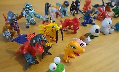 """Digimon 1.5"""" Collectables Season 1 Sets 1, 2, 3, 4, 7 and more, extremely rare!"""