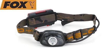 Fox Halo MS250 Headtorch Angellampe - Kopflampe, Stirnlampe für Angler, Lampe