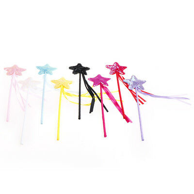 Cute Five pointed Star Fairy Wand Magic Stick Girl Party Princess Favors FW