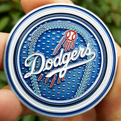 PREMIUM MLB Los Angeles LA Dodgers Poker Card Protector Coin Golf Marker NEW