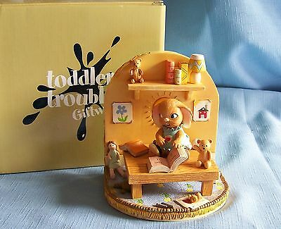 Pendelfin Toddler Trouble Series GIRL BOOKEND