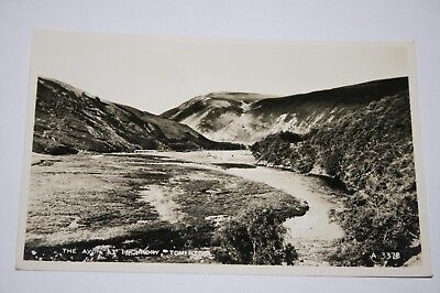 Vintage postcard The Avon at Inchrory Tomintoul Cairngorms Moray Scotland