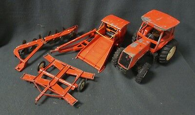 Lot Of 4 - Ertl Allis-Chalmers 1/16 Scale Toys - For Parts