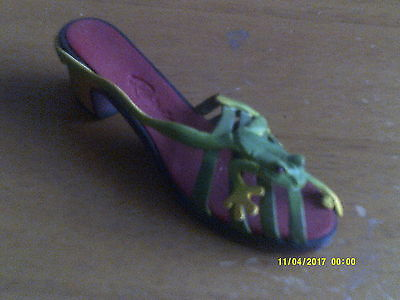 JUST THE RIGHT SHOE-  BY RAINE Ribeting Very Rare