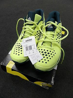 Brand-new ADIDAS VOLLEY RESPONSE BOOST W YELLOW VOLLEYBALL TRAINERS UK 8 BNIB