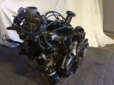 Ford 1300 Crossflow Complete Engine, 711M Block, Engine With Ancillaries,