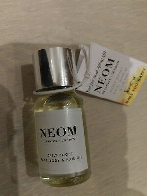 NEOM daily boost organic oil 10ml to make you happy