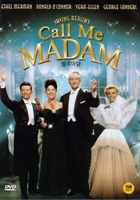 Call Me Madam (1953) Ethel Mermam / Donald O'Connor DVD NEW *FAST SHIPPING*