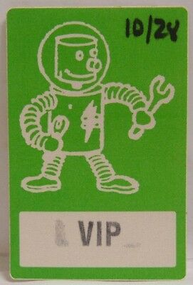 White Zombie / Rod Zombie - Original Vintage Tour Cloth Backstage Pass