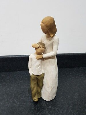 """willow tree figure """"Mother and son """""""