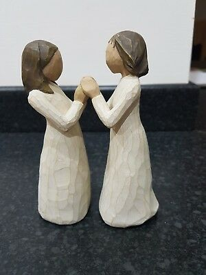 willow tree figurine sisters by heart