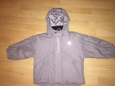 Lovely Thick Lecoqsportif Winter Coat Age 2-3 Y