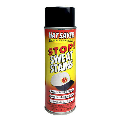 Hat Saver Spray - Stop Sweat & Water Stains | Works On All Headwear Fabrics!
