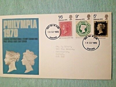 c.....GB..FDC..PHILYMPIA..1970..FIRST DAY COVER