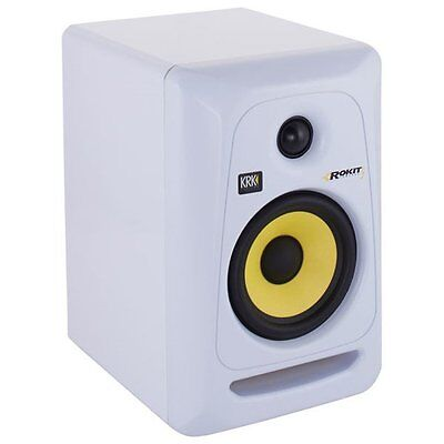 Krk Rp-5 G3 Rp5G3 Rokit White Single Studio Monitor New Special Offer